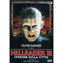 DVD HELLRAISER 3 INFERNO SULLA CITTA'