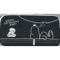 Snoopy 6024 Busta Piatta Scuola BLU