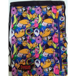 SACCA ZAINETTO TRACOLLA COMIX ADVENTURE TIME ITALY STYLE SAKKYBAG 8009117889968