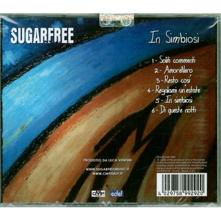 CD Sugarfree- in simbiosi 4029758992920