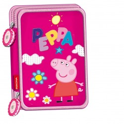 ASTUCCIO DOPPIA ZIP PEPPA PIG 8414778306523