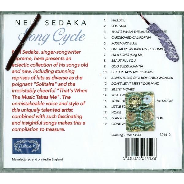 CD Neil Sedaka- song cycle 5030073014128