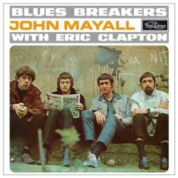 LP JOHN MAYALL WITH ERIC CLAPTON BLUES BREAKERS 8013252900020