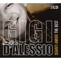 CD GIGI D'ALESSIO QUANTI AMORI THE BEST 889853109425