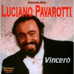 CD LUCIANO PAVAROTTI GREATEST HITS VINCERO' 8015670080056