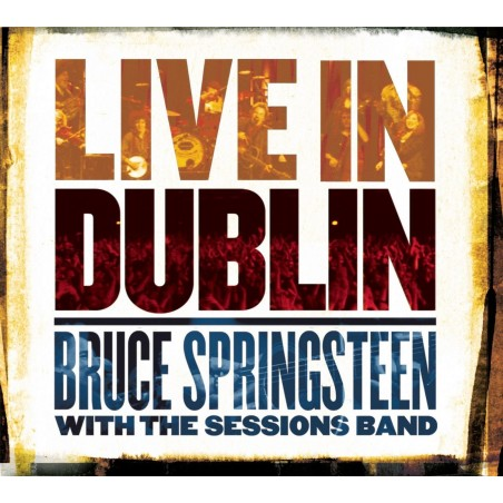 CD BRUCE SPRINGSTEEN WITH THE SESSIONS BAND LIVE IN DUBLIN 886970958226