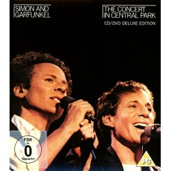 CD SIMON AND GARFUNKEL THE CONCERT IN THE CENTRAL PARK CD/DVD DELUXE EDITION 888750787828