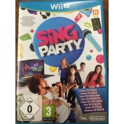 GIOCO NINTENDO WII U SING PARTY