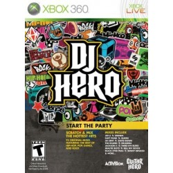GIOCO XBOX 360 DJ HERO
