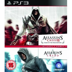 GIOCO PS3 ASSASSIN'S CREED II + ASSASSIN'S CREED EDIZIONE ITALIANA 3307215624401