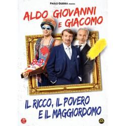 DVD ALDO GIOVANNI E GIACOMO IL RICCO, IL POVERO E IL MAGGIORDOMO 5051891128910