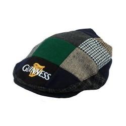Guinness Official Merchandise - Harp Embroidered Flat Cap, Cappello da uomo 5390763190083