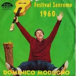 LP DOMENICO MODUGNO LIBERO/ NUDA FESTIVAL SANREMO 1960 7'' 45 GIRI