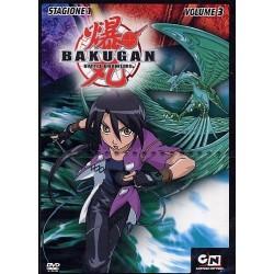 DVD BAKUGAN BATTLE BRAWLERS STAGIONE 1 VOL.3 5051891007864
