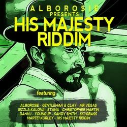 CD ALBOROSIE PRESENTS HIS MAJESTY RIDDIM 054645704328