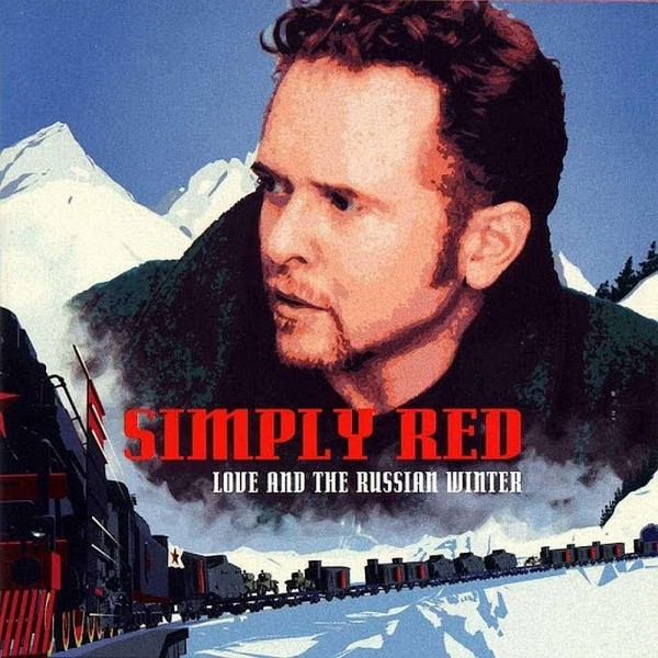 CD Simply Red- love and the russian winter 639842994224