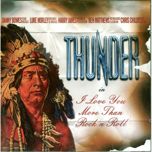 CD Thunder- i love you more than rock n roll 8024391022320