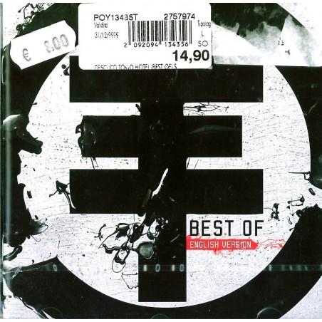 CD Tokio Hotel- best of (english version) 602527579740