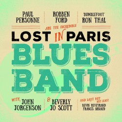 CD LOST IN PARIS BLUES BAND 4029759117124