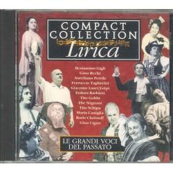 CD COMPACT COLLECTION LIRICA LE GRANDI VOCI DEL PASSATO