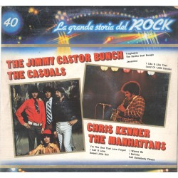 LP THE JIMMY CASTOR BUNCH THE CASUALS CHRIS KENNER THE MANHATTANS