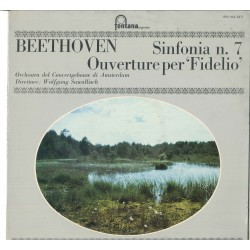 LP BEETHOVEN SINFONIA N 7 OUVERTURE PER FIDELIO