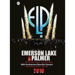 DVD EMERSON LAKE E PALMER 40TH ANNIVERSARY REUNION CONCERT HIGH VOLTAGE FESTIVAL 25TH JULY 2010 5055544215514