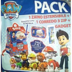 Zaino Paw Patrol Action Alpha Pups Nikelodeon Kit scuola 8024708582516