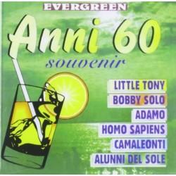 CD STORNELLI ROMANESCHI EVERGREEN ANNI 60 SOUVENIR 8028068100946