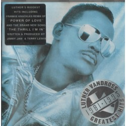 CD Luther Vandross- greatest hits 1981_1995 5099748110022