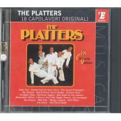 CD THE PLATTERS 18 CAPOLAVORI ORIGINALI 042284836029