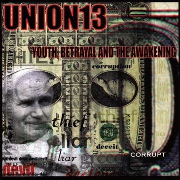 CD Union13- youth betrayal and the awakening 045778659128