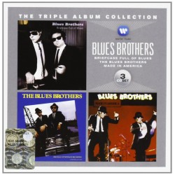 CD THE TRIPLE ALBUM COLLECTION BLUES BROTHERS 081227966744