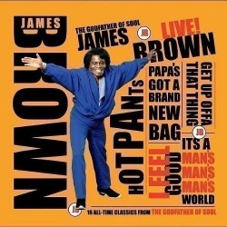 CD JAMES BROWN LIVE 5033107103027