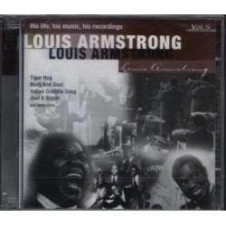 CD LOUIS ARMSTRONG INTERPRETED BY KENNY BAKER VOL.5 4011222053473