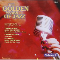 CD THE GOLDEN YEARS OF JAZZ VOL. 8 5032044440233