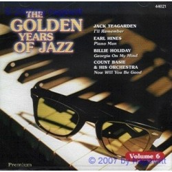 CD THE GOLDEN YEARS OF JAZZ VOL. 6 5032044440219