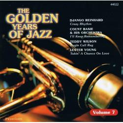 CD THE GOLDEN YEARS OF JAZZ VOL. 7 5032044440226