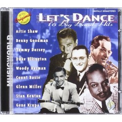 CD LET'S DANCE 16 BIG BAND HITS 7619929361227