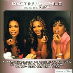 CD DESTINY CHILD THIS IS THE REMIX 5099750762721