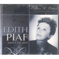 CD EDITH PIAF SIMPLY THE BEST EXCLUSIVE EDITION 5706238327531