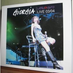 DVD GIORGIA LADRA DI VENTO LIVE 03/04 EDITORIALE 0602561383792