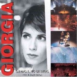 CD GIORGIA STRANO IL MIO DESTINO LIVE & STUDIO 95/95 EDITORIALE 0602561133809
