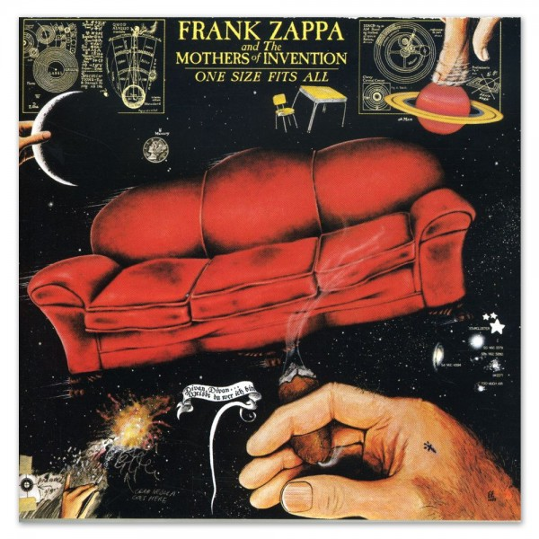 CD Frank Zappa- one size fits all 014431052125