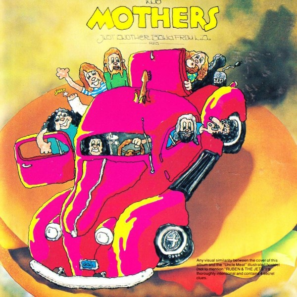 CD Frank Zappa & The Mothers- just another band from L.A. 014431051524