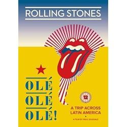 DVD ROLLING STONES OLE' OLE' OLE' A TRIP ACROSS LATIN AMERICA 5034504127777