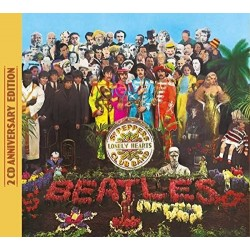 CD BEATLES Sgt. Pepper's Lonely Hearts Club Band - Anniversary Deluxe Edition 602557455366