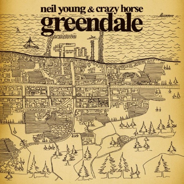CD Neil Young & Crazy Horse- greendale 093624854326