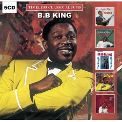 CD B.B. KING TIMELESS CLASSIC ALBUMS 5 CD 889397000158