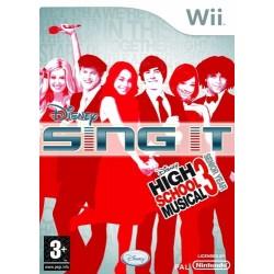 GIOCO NINTENDO WII DISNEY SING IT- HIGH SCHOOL MUSICAL 3 EDIZIONE REGNO UNITO 8717418185312